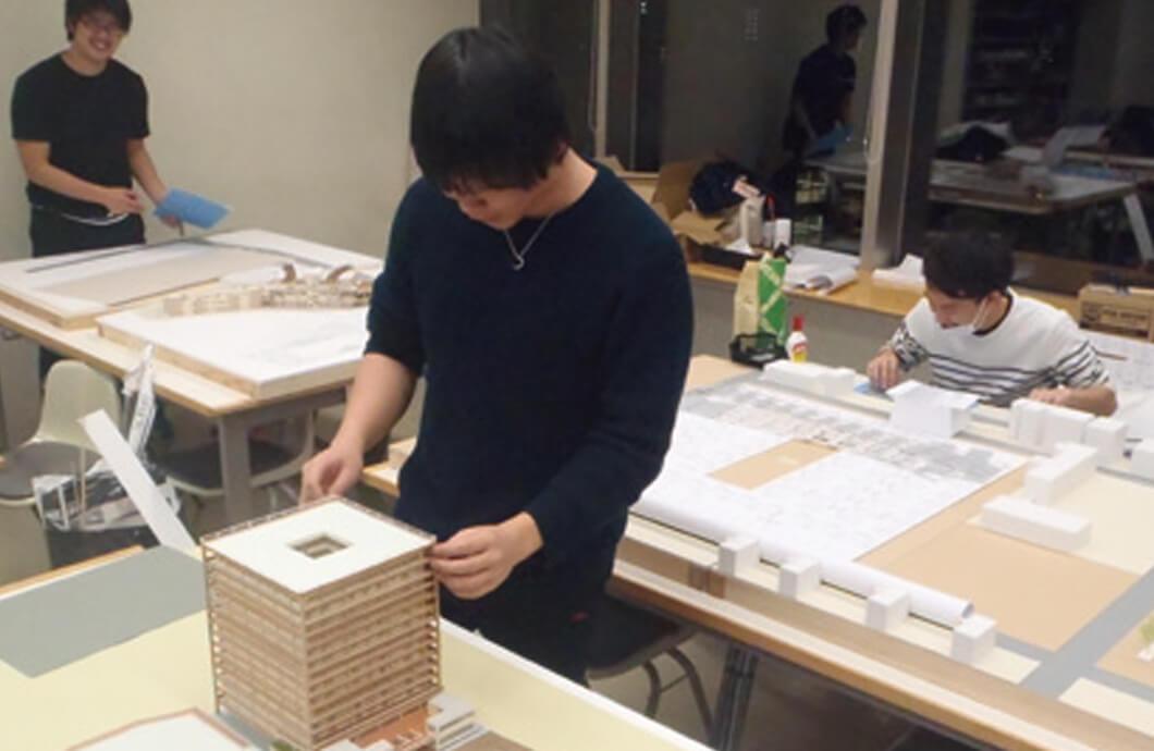 卒業設計 模型制作