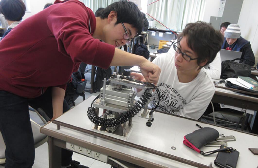 自由研究(空気圧機器の設計製作)