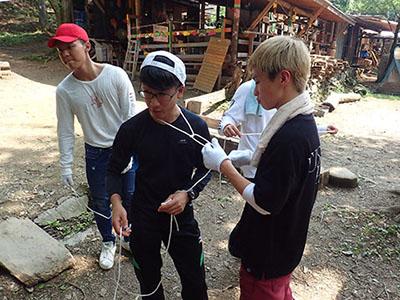 ロープワーク講習