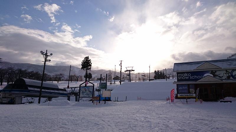 スポーツ健康学科 スキー実習