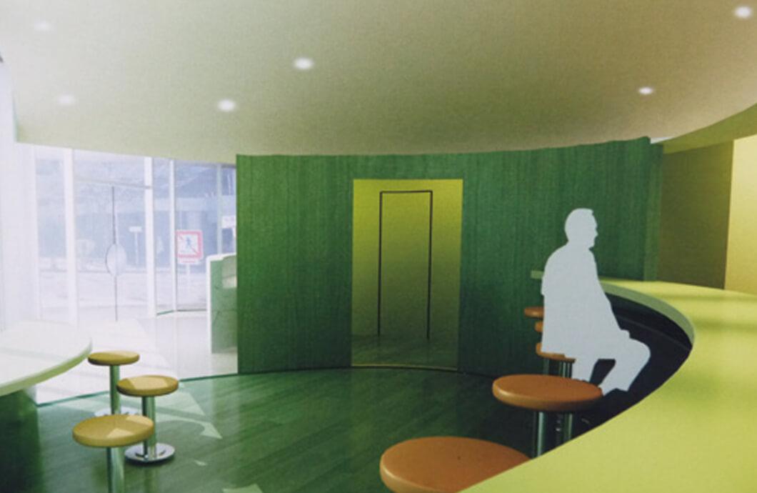 設計製図 店舗空間をCG でデザイン