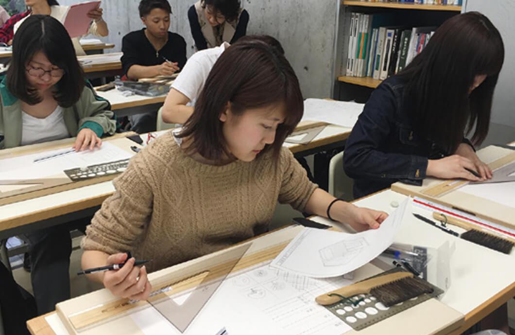建築設計製図 線の練習