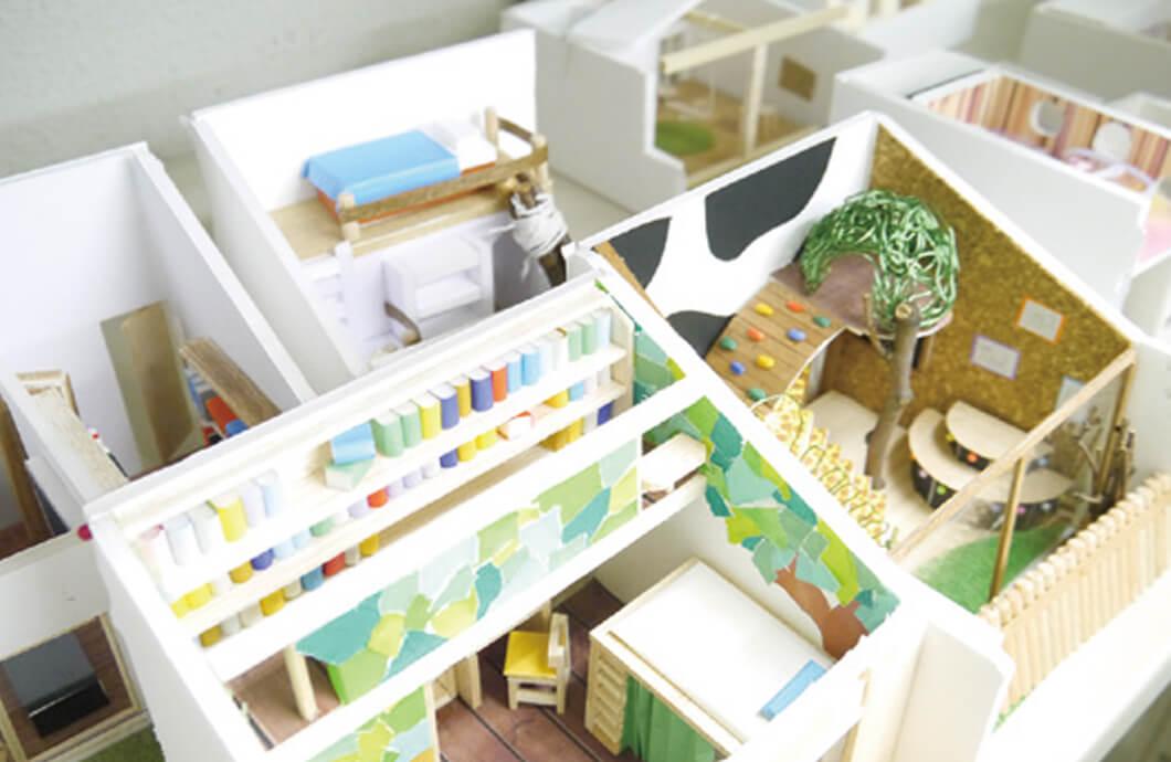 子供室リフォームデザイン模型