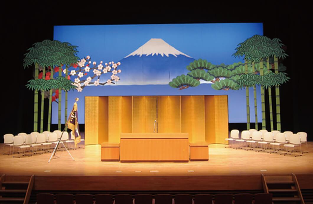 舞台造作実習 卒業式