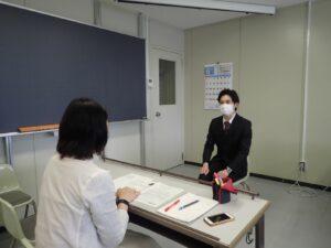 模擬面接【情報ビジネス科】