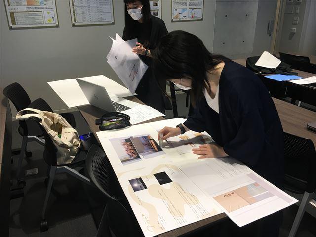 商店街リニューアル計画 -完結-(企業との連携授業) [建築室内設計科 2年]